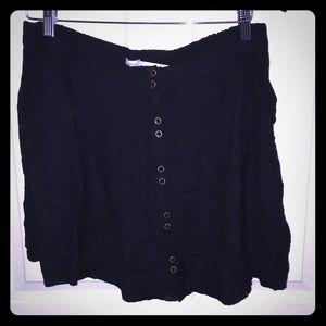 Black Kimchi Blue Mini Skirt
